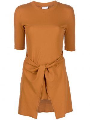 Хлопковая футболка - оранжевая Rosetta Getty
