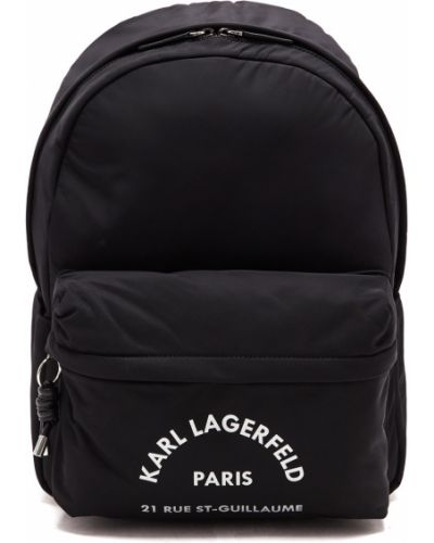 Рюкзак на молнии нейлоновый Karl Lagerfeld