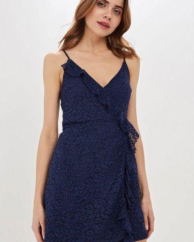 Вечернее платье весеннее синее Jennyfer