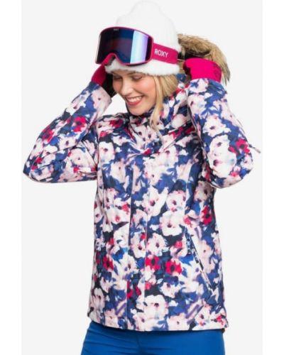 Синяя куртка сноубордическая Roxy