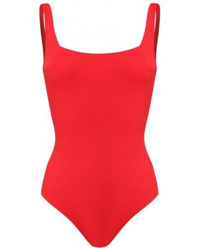 Слитный купальник с открытой спиной - красный Ritratti Milano