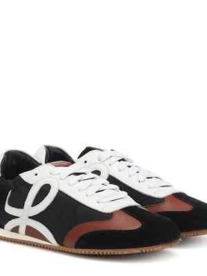Кожаные кроссовки с логотипом повседневные Loewe