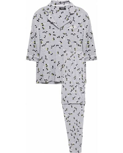 Пижамная трикотажная пижама с карманами Dkny