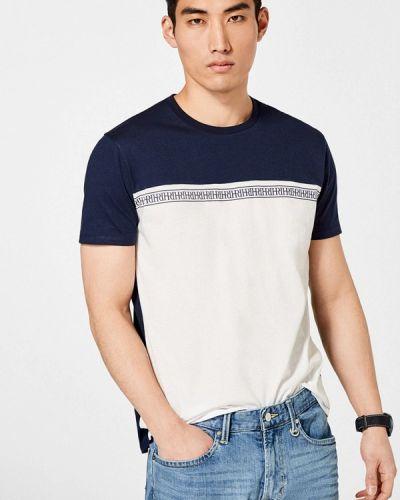 Синяя футболка Pedro Del Hierro