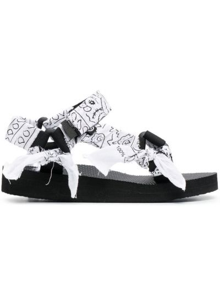 Sandały peep toe - białe Arizona Love