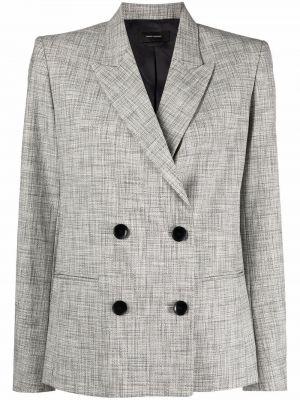 Серый пиджак длинный Isabel Marant