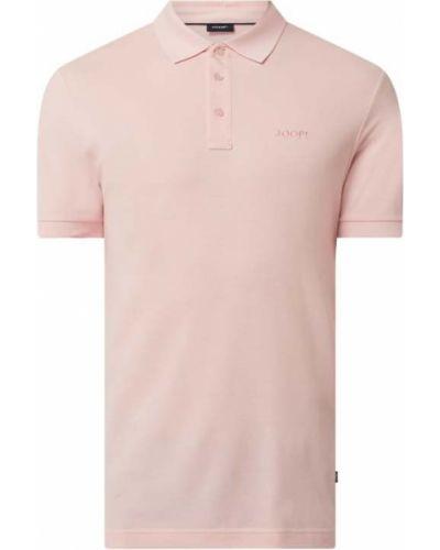 Różowy t-shirt bawełniany Joop! Collection