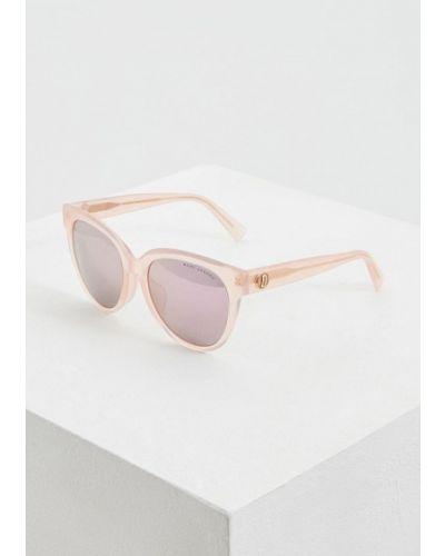 Солнцезащитные очки розовый круглые Marc Jacobs