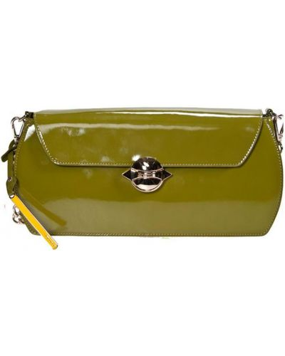 Клатч зеленый Cromia