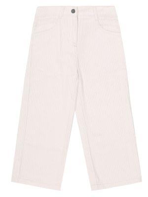 Prosto beżowy bawełna bawełna spodnie Stella Mccartney Kids