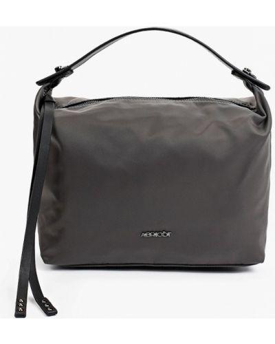 Серая сумка осенняя Abricot