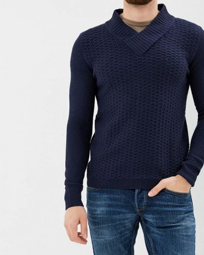Синий пуловер Gaudi