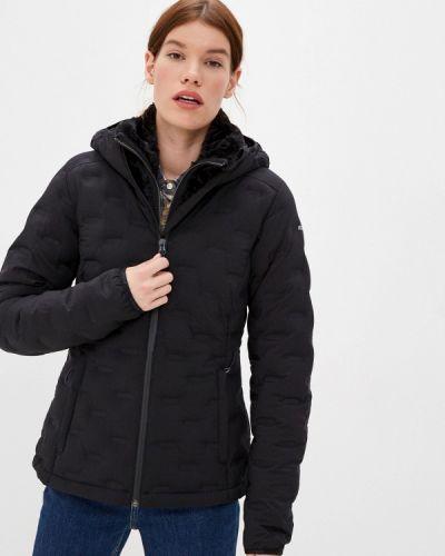 Утепленная черная куртка Icepeak