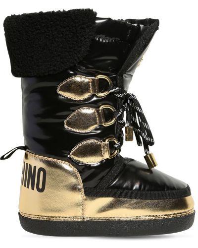 Buty z logo Moschino