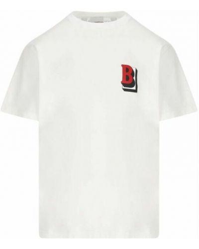 T-shirt - biała Burberry