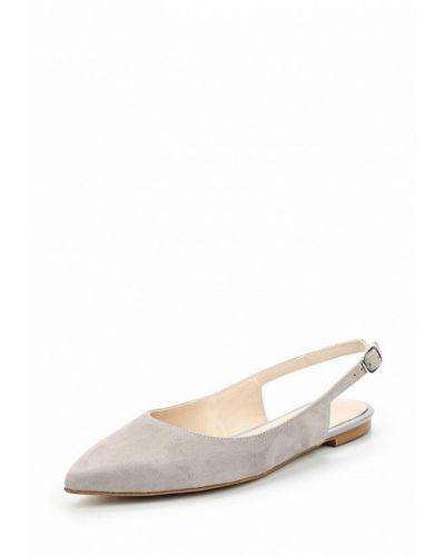 Серые замшевые туфли Zign