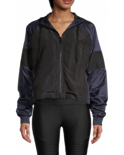 Нейлоновая черная облегченная куртка с капюшоном Alala