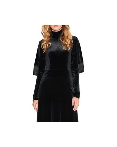 Коктейльное платье черное ли-лу