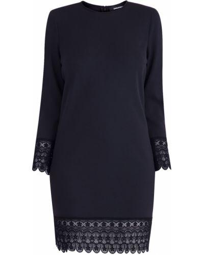 Платье мини облегающее со вставками Dsquared2