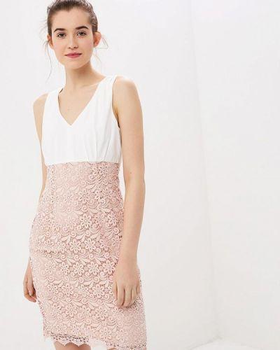 Платье весеннее розовое Naf Naf