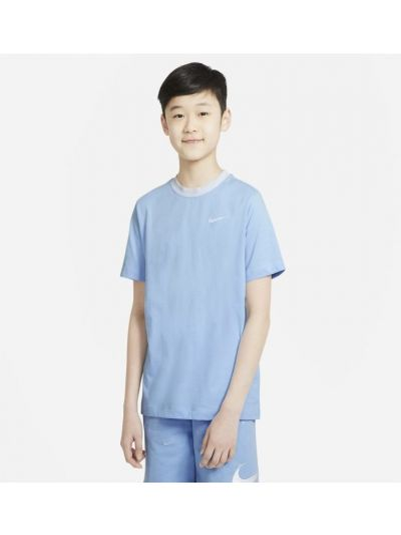 Niebieski t-shirt na co dzień Nike