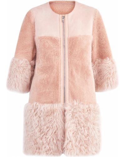 Пальто из овчины пальто Redvalentino