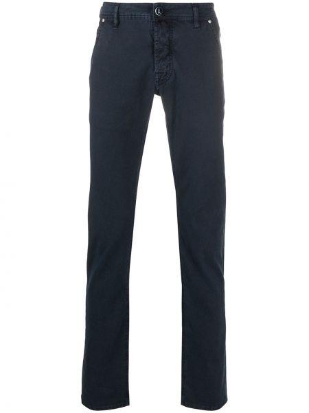 Jeansy z kieszeniami dżinsowa Jacob Cohen