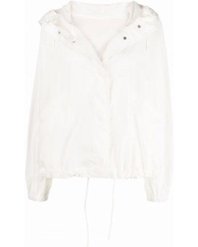 Белая хлопковая куртка Jil Sander