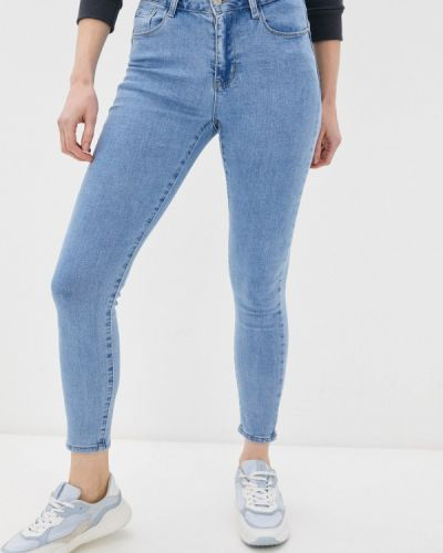 Зауженные джинсы - голубые G&g