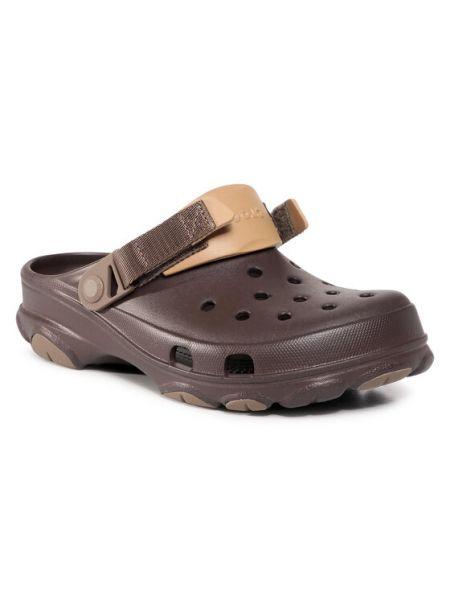 Chodaki - brązowe Crocs