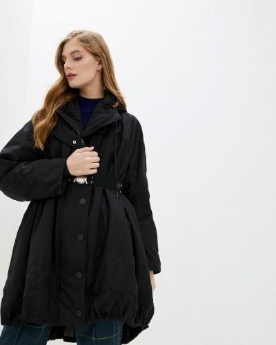 Черная утепленная куртка High