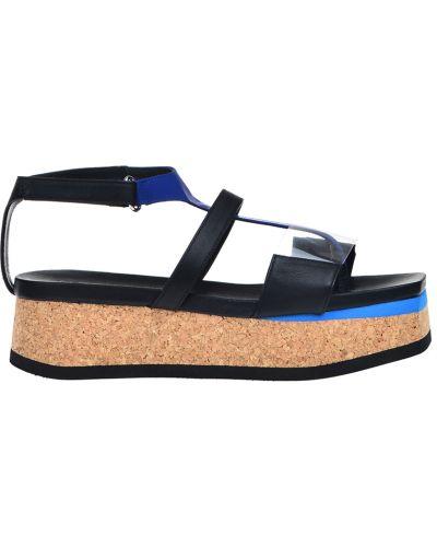 Черные сандалии Vic Matie