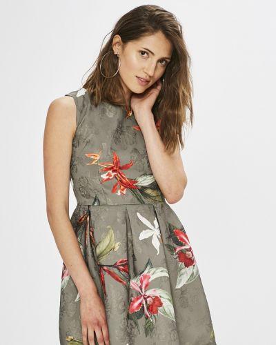 Платье мини с вырезом из полиэстера Haily's
