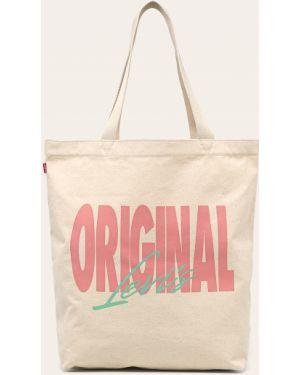 Torba na torbę długo z logo Levi's
