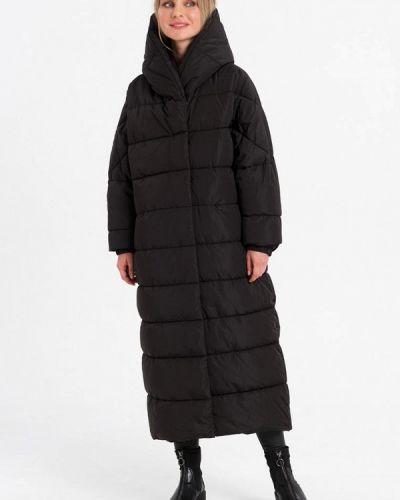 Черная утепленная куртка Lab Fashion