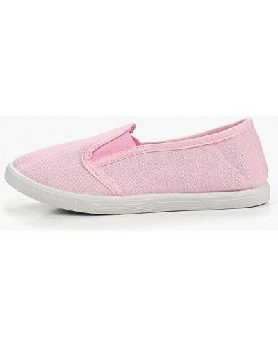 Мокасины розовый Modis