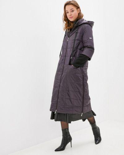 Фиолетовая утепленная куртка Helmidge