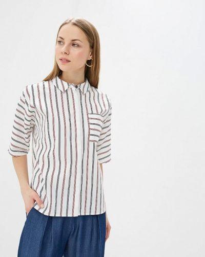 Рубашка с коротким рукавом белая Unq