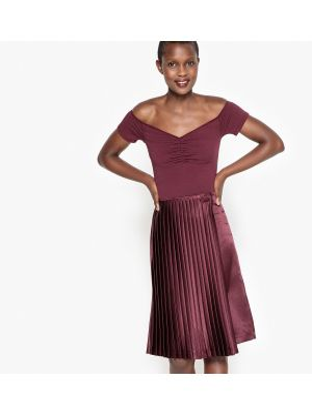 Плиссированные юбки La Redoute Collections