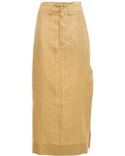 Bielizna spódnica z kieszeniami z paskami Jacquemus