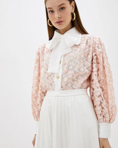 Блузка с бантом - розовая Sister Jane