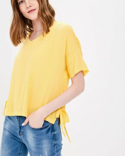 Желтая блузка Top Secret