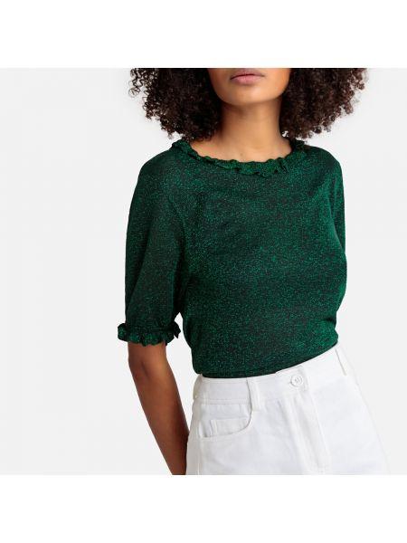 Пуловер из вискозы короткий Suncoo
