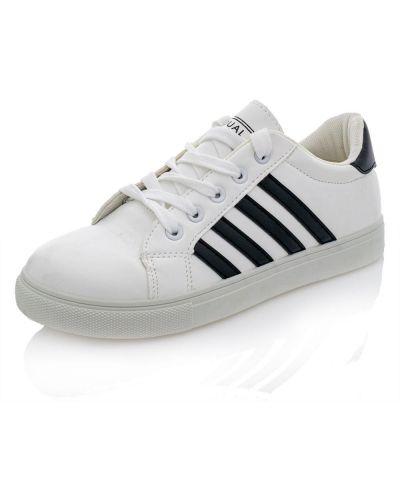 Текстильные кроссовки - белые Dual