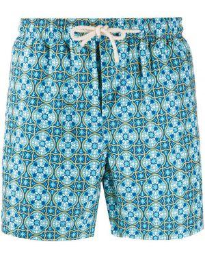 Kąpielówki z kieszeniami niebieski Peninsula Swimwear