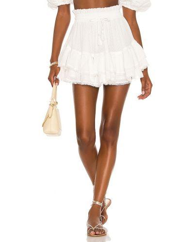 Белая юбка на резинке Tularosa