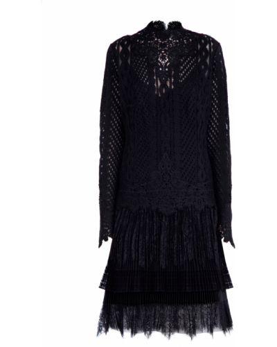 Платье шерстяное платье-поло Ermanno Scervino