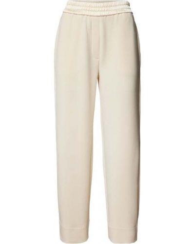 Białe spodnie dresowe Marc Cain