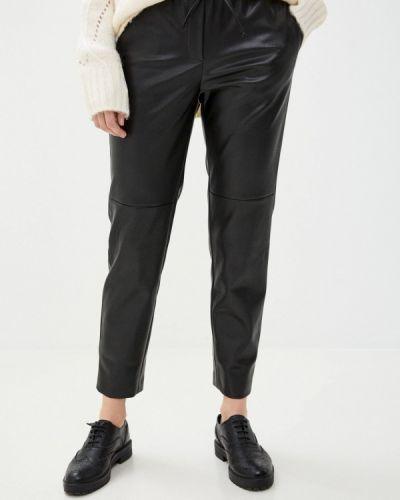 Кожаные черные брюки Argent