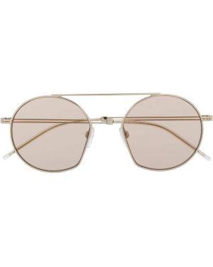 Okulary, różowy Emporio Armani